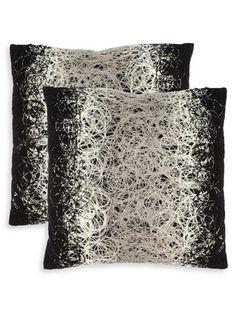 The Rock 'n' Roll Home - Gilt Home Damascus Pillows