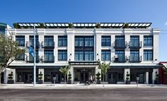 mixed use building three story - Google Search