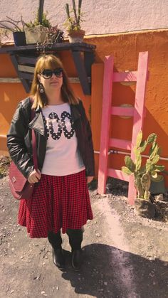 Today on the blog featuring @ASOS.com @New Look H&M, Patrick Cox, Carrera sunglasses and handmade earrings #fbloggers #ootd http://thomaisadventuresinfashionland.blogspot.mx/2014/02/mafalda-and-boots.html
