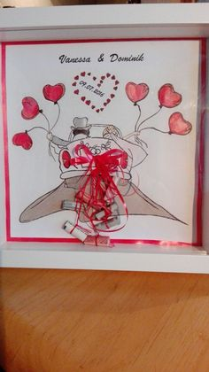 Wedding Gift Baskets, Wedding Gifts, Just Married, Presents, How To Make, Do Crafts, Wedding Giveaways, Wedding Gift Hampers, Marriage Gifts