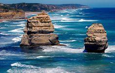 Apostles near Melbourne, Australia