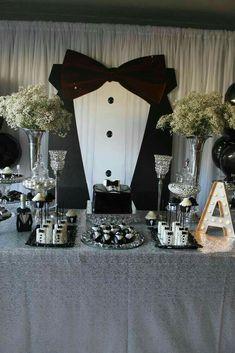 85 best masculine party decor images table decorations wedding rh pinterest com