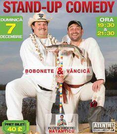 Stand-Up Comedy cu Bobonete & Vancica plus special Guest Natanticu