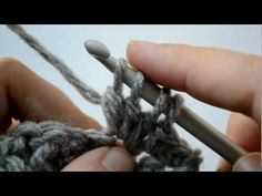 How to crochet the bobble stitch - Part 4 of 5 - Crochet Lessons Triple Crochet Stitch, Crochet Chain, Crochet Stitches, Crochet Hooks, Knit Crochet, Crochet Patterns, Crochet Crafts, Crochet Projects, Crochet Prayer Shawls