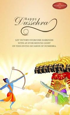 Nisarg Group wishes you all a very Happy Dussehra  http://www.nisarggroup.com/greens/  #Dussehra2016 #Festival #Celebration #Occasion