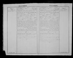 Antonino Rallo & Mattia Foderà 1884 marriage record