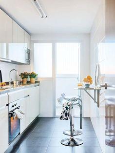 Robuste et facile d'entretien, la céramique est un couvre-plancher parfait pour la cuisine.