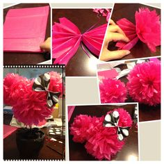 Done! Minnie Mouse table topper