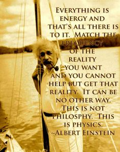,As Albert said: everything, including you, are energy (chi).  We just are vibrating at different speeds!