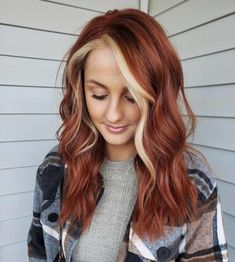 Red Blonde Hair, Dyed Red Hair, Brunette Hair, Ginger Hair Color, Hair Color And Cut, Red Hair Don't Care, Hair Color Auburn, Aesthetic Hair, Grunge Hair