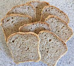 Min side ~ Fars grove brød stk) Norwegian Food, Cloud Bread, Banana Bread, Food And Drink, Keto, Gluten, Baking, Health, Desserts