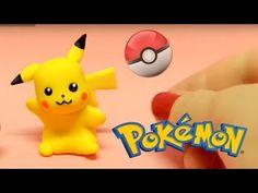 Pikachu POKEMON - Tutorial em Biscuit por Regiane Ribeiro - YouTube