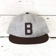 Ebbets Field Flannels  Joe Louis Brown Bombers 1940 Ballcap