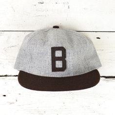 Ebbets Field Flannels  Joe Louis Brown Bombers 1940 Ballcap