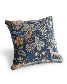 ENGLISH TAPESTRY PILLOW    English Tapestry pillow from the Southern Home; thesouthernhome.com.