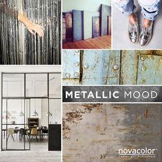 Metallic inspiration for Novacolor!