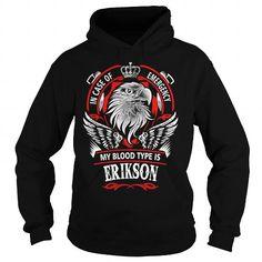 Cool ERIKSON, ERIKSONYear, ERIKSONBirthday, ERIKSONHoodie, ERIKSONName, ERIKSONHoodies T-Shirts