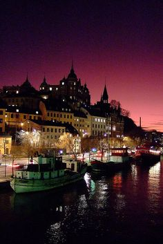 Evening, Stockholm, Sweden