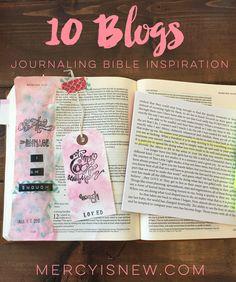 10 Blogs for Journaling Bible Inspiration