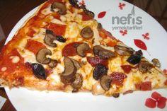 Karışık Pizza Yapımı