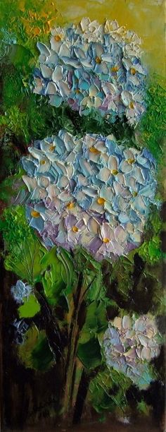 floralart.quenalbertini: Hydrangeas by European Artist on eBay