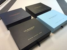 Luxury boxes for Luxury hotels.