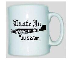 Tasse JU 52 / mehr Infos auf: www.Guntia-Militaria-Shop.de