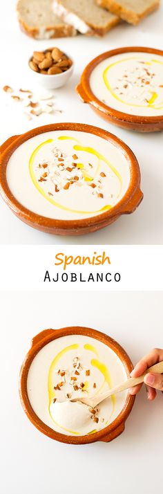 Spanish Ajoblanco   simpleveganblog.com #vegan