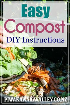 Having a compost pile is key to growing a productive garden. Starting a compost pile from scratch is often seen as daunting and people don't know how to build a compost heap, so many people just avoid it for fear of 'doing it wrong'. Compost has so many benefits for the garden, I really encourage you to get composting in your own backyard too. #piwakawakavalley