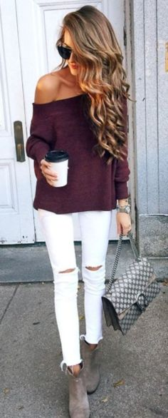 Stunning fall outfits with cardigan (7)