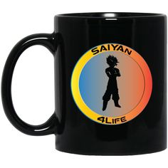 Wow You Might Find This Awesome http://tudedays.myshopify.com/products/saiyan-4life-w11b-custom-personalized-11-oz-black-mug?utm_campaign=social_autopilot&utm_source=pin&utm_medium=pin