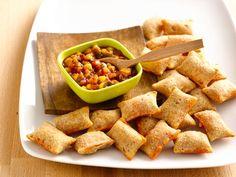 Quick Mango Salsa and Pizza Rolls® - QueRicaVida.com #BTFE