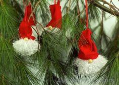 DIY Swedish Tomten Tree Ornament by AshbeeDesign.com