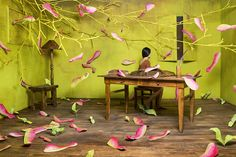 Artist Jee Young Lee creates stunningly elaborate scenes without Photoshop