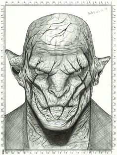 Azog Drawing - The Hobbit by carldraw on DeviantArt