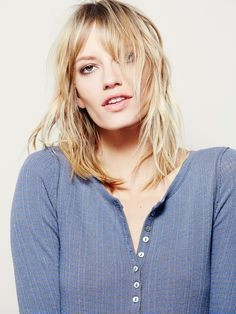 Free People We The Free Roller Blade Henley, £48.00