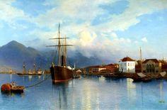 Lev Lagorio Russian Seascape Paintings - Fine Art Blogger