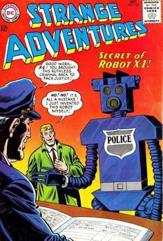 Police - Approved By The Comics Code Authority - Dc - Superman - National Comics