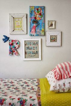 Style on Monday - gallery walls | Life on Lemon Lane
