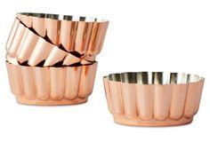 S/4 Copper Jubilee Molds