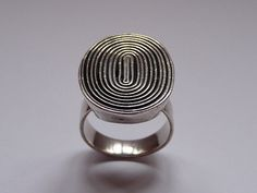 Vintage ring sterling silver Mexican by VintageDesignSilver, £32.00