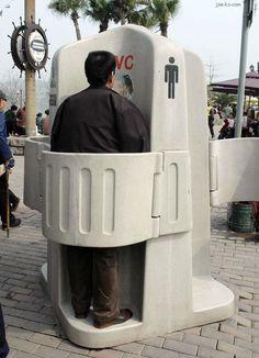 Outside Urinal thanks to Idske Mulder