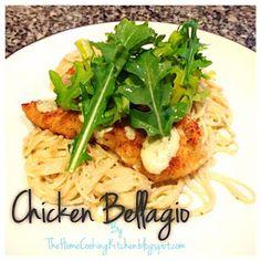 The Home Cooking Kitchen: Chicken Bellagio- Cheesecake Factory Version