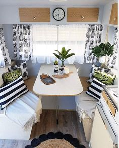 caravan ideas 592364157222375642 - 35 Monochrome RV Decor Idea for a nice ambiance – # … – Wohnwagen – Source by Caravan Makeover, Caravan Renovation, Camper Life, Rv Campers, Camper Van, Teardrop Campers, Teardrop Trailer, Folding Campers, Kombi Home