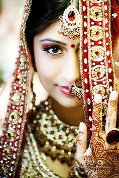 beautiful bride in India