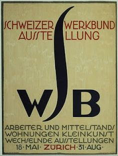 1918. Poster by Otto Morach