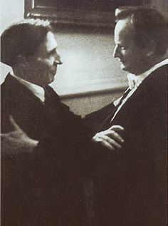Alfred Cortot with Wilhelm Kempff