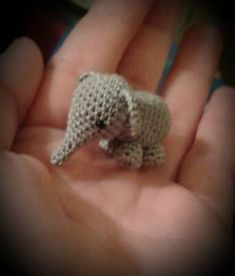 Amigurumi Mini Elephant - FREE Crochet Pattern / Tutorial