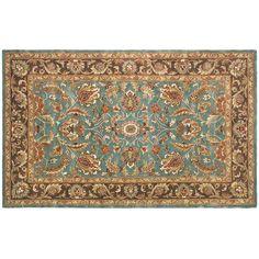 Safavieh Heritage Tallinn Framed Floral Wool Rug, Multicolor