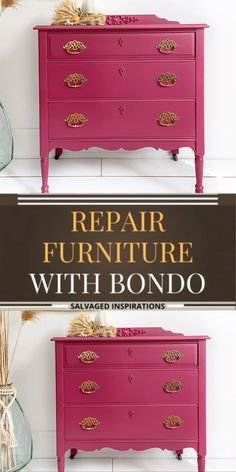 Diy Furniture Redo, Furniture Repair, Diy Furniture Projects, Refurbished Furniture, Repurposed Furniture, Home Decor Furniture, Painted Wood Furniture, Restoring Furniture, Colorful Furniture